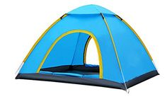 YGSDKJ Dome Mountaineering 4 Person Tent Color Blue -- You can find more details by visiting the image link.