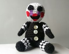Neurotic Mother Crochet: Five Nights at Freddy's Puppet amigurumi pattern