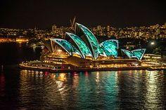 Sydney, New South Wales, Australia, Oceania Photos from Sydney at New South Wales, Australia. Australia Tours, Sydney Australia, Australia Travel, Brisbane, Melbourne, Sydney Opera, Facts About Australia, Saint Sylvestre, Cinema Experience