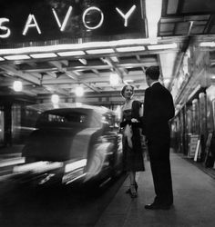 The Savoy c.1950 (photograph by Emerick Bronson/Condé Nast LTD)