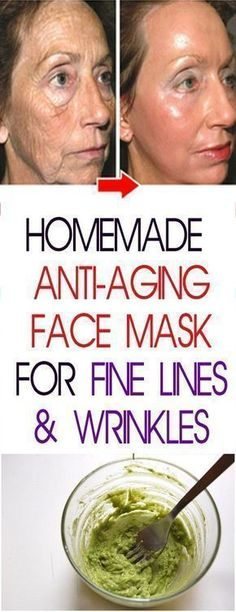 HOMEMADE ANTI-AGING FACE MASK FOR FINE LINES & WRINKLES #fitness #beauty #hair #workout #health #diy #skin #Pore #skincare #skintags #skintagremover #facemask #DIY #workout #womenproblems #wrinkles #antiagingworkouts #antiagingexercises