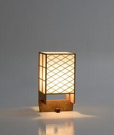 [Мин Глен Andon H] Джордж Накашима светильники, лампы | Продукты | Sakura Seisakusho