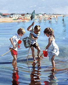 Fishing In The Shallows Sheree Valentine Daines - Arthouse