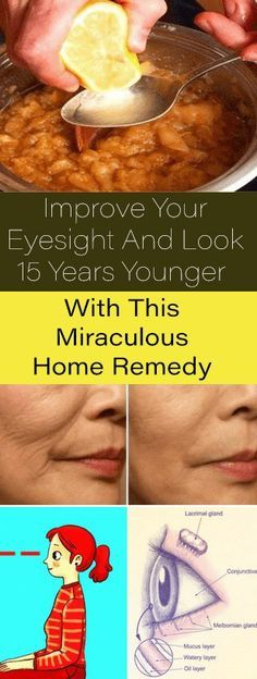 Improve Your Eyesight And Look 15 Years Younger With This Miraculous Home Remedy #diy #remedy #beauty #skincare #health #fitness