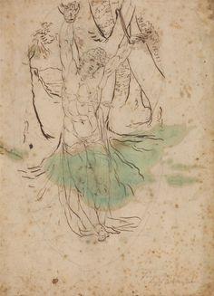 Foto:James Barry (1741-1806), Study for Saint Sebastian, Yale Center for British Art, UK