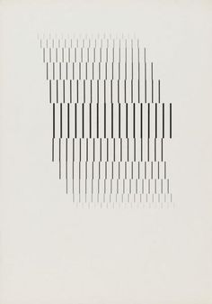 Wolfgang Weingart [Line research series 2 of 5]-Kunstgrafik 1964