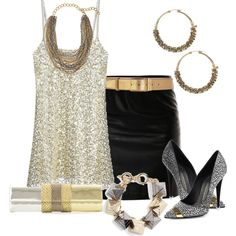 A fashion look from July 2013 featuring white slip, high-waisted skirt and black pumps. Browse and shop related looks. Beautiful Outfits, Cute Outfits, Disco Outfits, Beautiful Clothes, Casual Chic, Just Girl Things, Fashion Outfits, Womens Fashion, Fashion Sets
