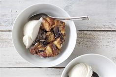 Mocha Bread Pudding 5 - offbeat + inspired
