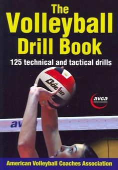the volleyball drill book paperback