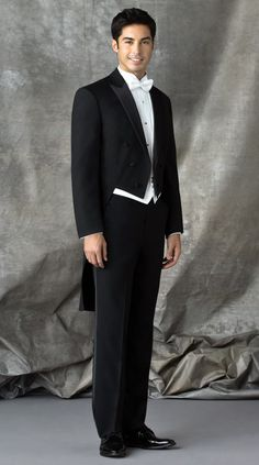 Black Tails Tuxedo by After Six : Formal Dimensions