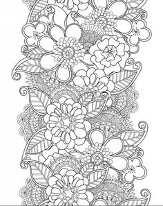 """iColor """"Flowers"""" --> If you're in the market for the most popular adult coloring books and writing utensils including colored pencils, drawing markers, gel pens and watercolors, visit our website at http://ColoringToolkit.com. Color... Relax... Chill."""