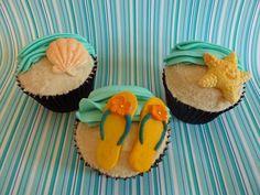 Beach Cupcakes by kt.cupcake, via Flickr