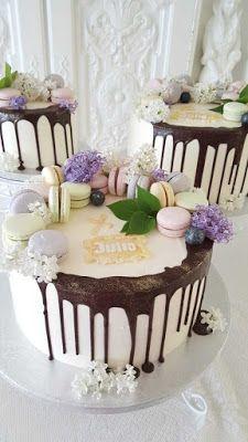 Purppurahelmi: Rippikakkuja tytöille  ja koristetta pojalle Birthday Cake, Cakes, Desserts, Food, Birthday Cakes, Postres, Cake Makers, Mudpie, Deserts