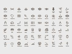 Icons for app  by Ivan Delafond