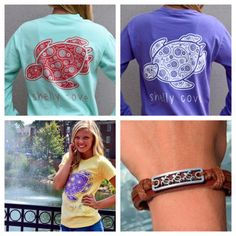 Our Shelly Tee Shirts in Island Reef, Violet and Butter! Help us Preppy Outfits, Summer Outfits, Cute Outfits, Shelly Cove, Turtle Pattern, Small Town Girl, Summer Is Coming, Sea Turtles, Of Brand