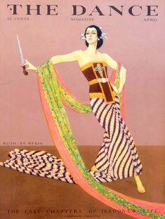 Dance 1929-04 ~ ruth st denis