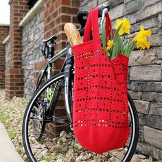 Ravelry: The Ultimate Market Bag pattern by Connie Lee Lynch