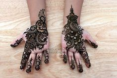 Eid Henna 2012 © NJ's Unique Henna Art   Flickr - Photo Sharing!