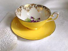 Antique Shelley Teacup and Saucer English Tea