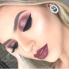 Trendy makeup looks red lips mac eyeshadow 59 Ideas Trendy Make-up sieht rote Lippen Mac Lidsc Glam Makeup Look, Cute Makeup, Gorgeous Makeup, Pretty Makeup, Beauty Makeup, Makeup Tools, Makeup Brushes, Makeup Guide, Makeup Ideas