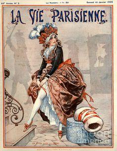 Chéri Hérouard (1881 - 1961). La Vie Parisienne, 10 Janvier 1925. [Pinned 19-iii-2015]