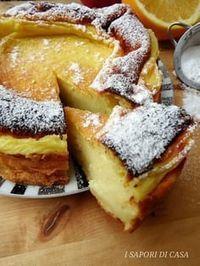 Ecco la torta souffle all'arancia senza burro e olio è una di queste. Questa torta della consistenza cremosa e delicata me la preparava ♦๏~✿✿✿~☼๏♥๏花✨✿写☆☀🌸🌿🎄🎄🎄❁~⊱✿ღ~❥༺♡༻🌺TU Dec ♥⛩⚘☮️ ❋ Super Torte, Wine Recipes, Cooking Recipes, Delicious Desserts, Dessert Recipes, Torte Cake, Italian Desserts, Food Cakes, Sweet Cakes