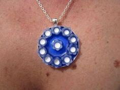 Necklace Blue Bouquet £10.00