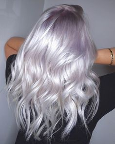Michael Lowenstein on Pearled Platinum Ultra Soft Tones On This Blonde Beauty. By Melody amp; Color Using pravana Treated With olaplex . Platinum Blonde Hair Color, Silver Blonde, Icy Blonde, Silver Platinum Hair, Blonde Hair With Color, Purple Blonde Hair, Platinum Blonde Hairstyles, 2 Tone Hair Color, Toning Blonde Hair