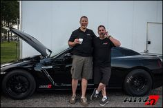 Alpha Omega: New GT-R 1/4 Mile Record