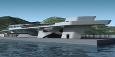 Terminal Marítimo Salerno / Zaha Hadid Architects