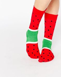 Doiy | Doiy Watermelon Ice Pop Socks at ASOS