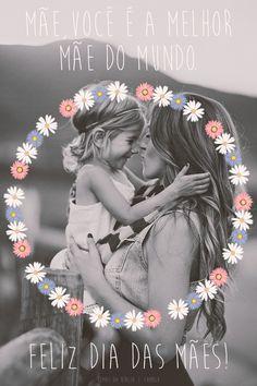 Ser mãe… É a missão de maior responsabilidade. É amar de forma mais completa. É dar o melhor de si e não esperar nada em troca… À ela devemos nossa vida pois é merecedora de todo nosso respeito e digna de todo nosso afeto. Mãe é sinônimo de amor e bondade. Feliz Dia das Mães!