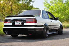The cult of the Corolla has got way out of hand, with good examples selling for mkII Escort money, and Toyota even casting a new mode. Corolla Ae86, Toyota Corolla, Toyota Celica, Toyota 86, Toyota Cars, Tuner Cars, Jdm Cars, Cars 4 Sale, Classic Japanese Cars