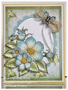 Heartfelt Creations' Butterfly Medley Collection of stamps, dies and designer papers designed by Kathy Roney - Joyfully Made Designs