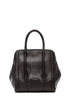 Pour La Victoire Tote in Black Snake from REVOLVEclothing