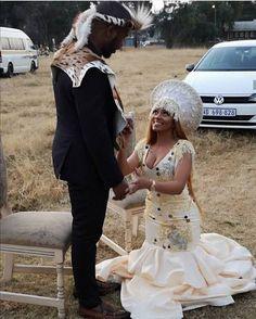 Zulu Traditional Wedding Dresses, Sotho Traditional Dresses, Zulu Traditional Attire, South African Traditional Dresses, Traditional Dresses Designs, Traditional Weddings, Traditional Clothes, African Print Dresses, African Fashion Dresses