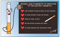 General Health Benefits Of Switching to the Electric Cigarettes..@