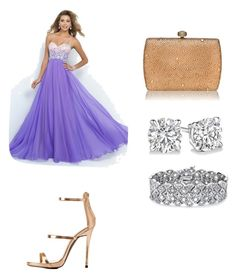"""""""Academy awards"""" by livfaith080412 ❤ liked on Polyvore featuring Charlotte Russe and Palm Beach Jewelry"""