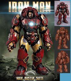 Hulk Buster Suit, Ironman