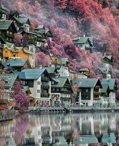 Sunset Vacations, Vacation Trips, Places To Travel, Travel Destinations, Places To Visit, Holiday Destinations, Nature Photography, Travel Photography, Hallstatt