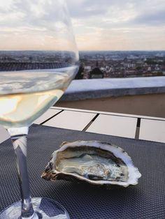 Rooftops et terrasses secrètes - Lyon France Lyon France, Lyonnaise, Parasols, Rooftop Bar, We, Night Life, Destinations, Industrial, Europe