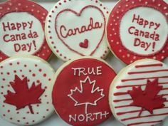 Canada Day Funny Joke Pictures Canada Day Funny Pics Images Canada Day Funny Picture Canada Day Funny Pictures For Whatsapp Canada Day 150, Canada Cup, Happy Canada Day, Canada Canada, Iced Cookies, Cute Cookies, Sugar Cookies, Holiday Cookies, Canada Celebrations