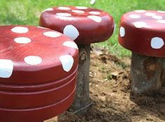 """These Adorable """"Toadstools"""" 