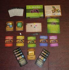 3 Seeds (Chara Games Review) #hsreviews #ChristianBoardGames #StrategyGames #sponsored