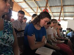 Worship and hearing God's Word...a beautiful start to our week!