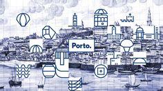 """O Porto é o Porto. Ponto. E é incomparável. Este """"motion"""" resume a dinâmica da identidade gráfica da marca Porto, ontem apresentada."""