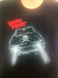 Death proof airbrushed t-shirt...