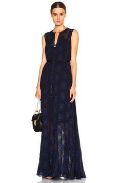 Kate Sylvester Lunetta Dress in Ink | FWRD