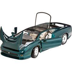 Maisto 1:18 scale Special Edition Jaguar XJ220 Green Diecast Model Car