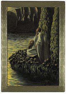 Carlos Schwabe (1866 – 1926), Silence Intérieur - 1909